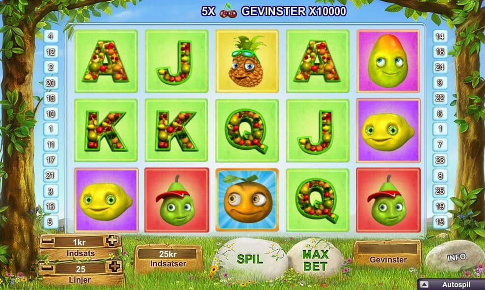 Fruity Friends spilleautomat