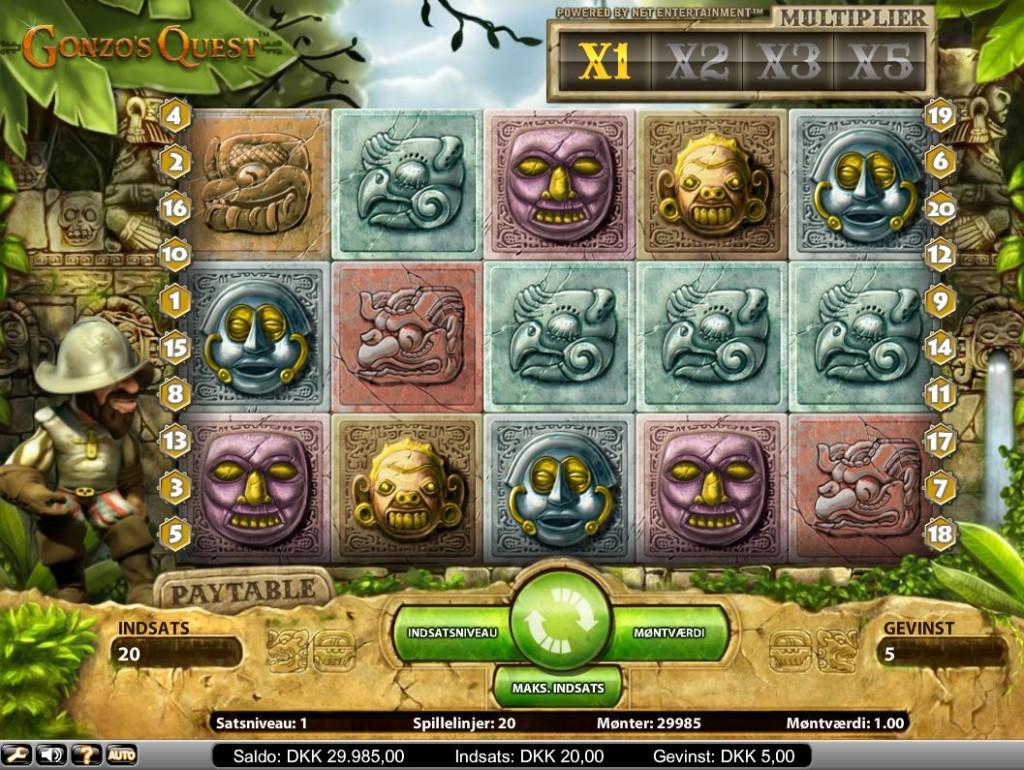 Gonzo's Quest spillemaskine