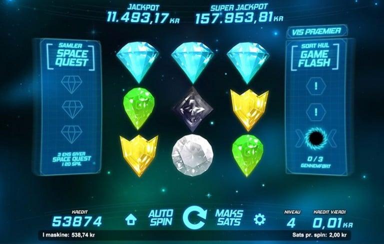 Space Gems spilleautomat