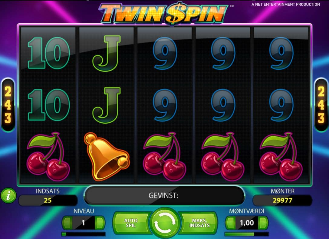 Twin Spin spillemaskine
